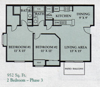 2 Bedroom - Phase 3